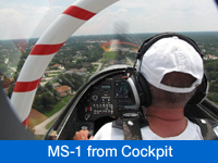 Watch MS-1 Test Flight Video from Coclpit