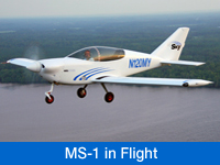 Watch MS-1 Air-to-Air, InFlight Video