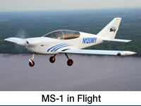Watch MS-1 Air-to-Air, in Flight Video