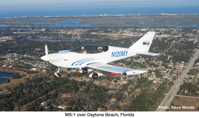 MS-1 Inflight Over Florida Photo Gallery